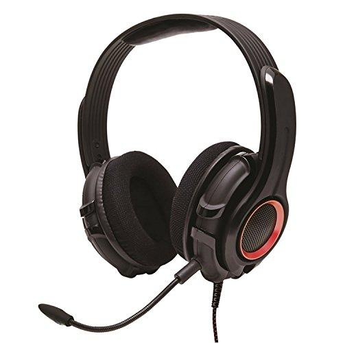 Cruiser Pc200 2.0 Stereo Gaming Headset With Detachable Boom Microphone For Pc, Black Color