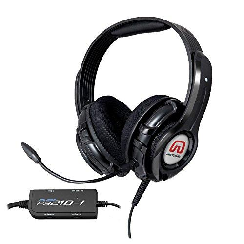"Cruiser Ps3210 2.1 Amplified Stereo Gaming Headset With Detachable Boom Microphone For Sony Ps3 Console, Built-In Amplifier / Bass With ""Shakebration"" Feature, Black Color, Blister Pack"