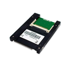 """Ide To Compact Flash Adapter, Dual Slot, 44-Pin 2.5"""" Interface"""