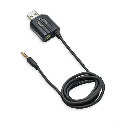 Usb Headphone Adapter With Wireless Remote Control, For Ipod