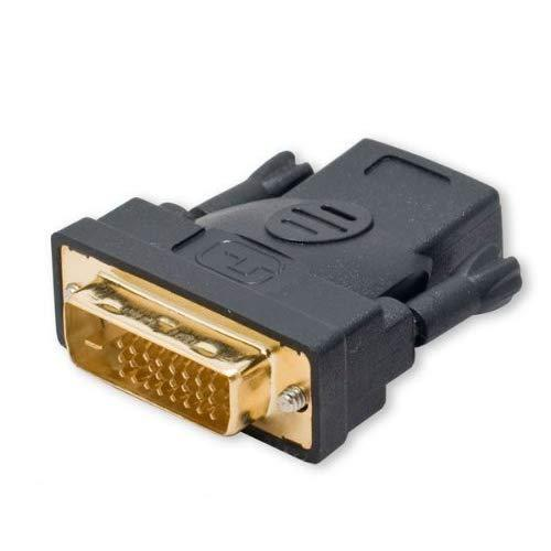 Hdmi (19-Pin) Female To Dvi-D (24 Pin) Male Connector