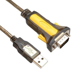 Usb 2.0 To Serial Converter, Usb 2.0 To Rs-232 Male (9-Pin) Db9 Serial Cable, Approximately 67 Inches, Up To 1Mbps Transfer Rate, Powered By Usb Port, Prolific Pl2303 Chipset