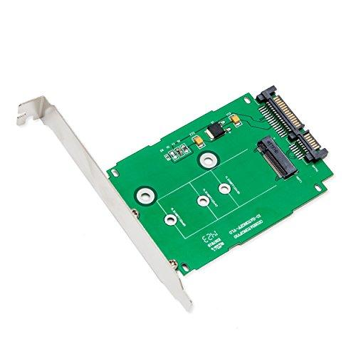 "M.2 (Ngff) Ssd To 2.5"" Sata6G Adapter, Standard Sata 22-Pin Connector, Support M.2 Card Size: 22*30 / 22*42 / 22*60"