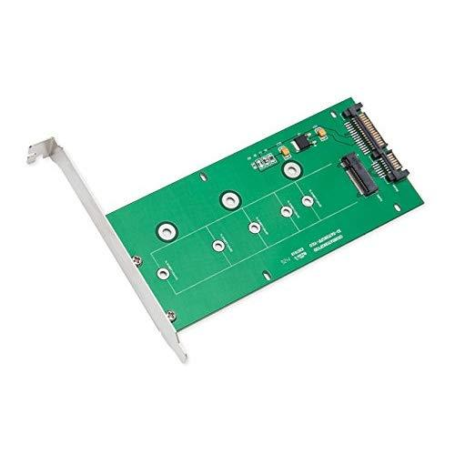 "M.2 (Ngff) Ssd To 2.5"" Sata3/6G Adapter, Standard Sata 22-Pin Connector, Support M.2 Card Size: 22*30 / 22*42 / 22*60 / 22*80 / 22*110"