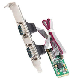 Mini Pci-Express 1.1 2-Port Rs-422/485 Serial Interface, Exar352 Chipset