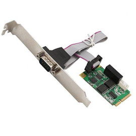 Mini Pci-Express 1-Port High Speed Serial Com Port Supporting Rs-232/422/485, Ftdi Ft231Xs Chipset