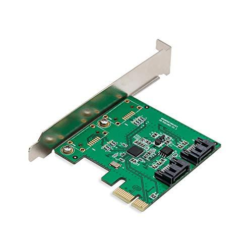 Pcie X1 Interface Version 2.0, 2-Port Sata3, Speed Up To 6Gbps, Support Raid 0 / 1 / Span, Asmedia 1061 Chipset, With Low Profile Bracket