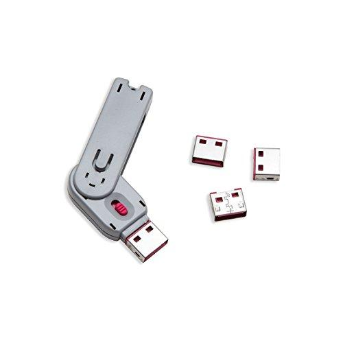 Usb Port Blocker With 1 Key And 4 Usb Lock