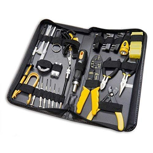 58 Pieces Computer Tool Kit, Slim Zipped Case