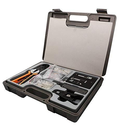 130 Pieces Computer And Networking Tool Kit
