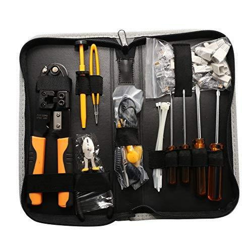 39 Pcs Computer / Networking Tool Kit, Zippered Case