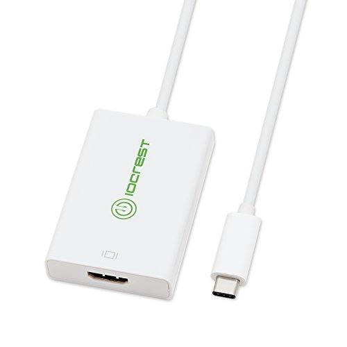 Usb 3.1 (5G) Type-C To Hdmi 4K Adapter, Usb Mode, 3840X2600 @ 60Hz, White Color