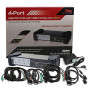 4-Port Usb/Dvi Kvm Switch With Usb2.0 Hub And Audio, Including 4 Sets Dvi, Usb? Cables