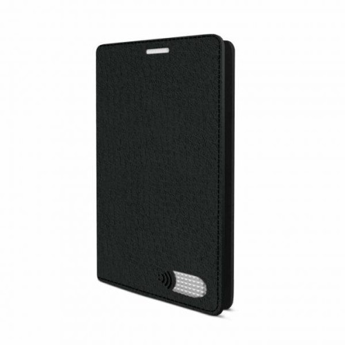 Vest Anti-Radiation Wallet case for Samsung Galaxy S7 Edge - Black