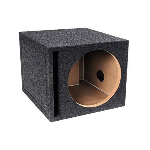 """Pro Series 10"""" Single Carpeted Vented Enclosure"""