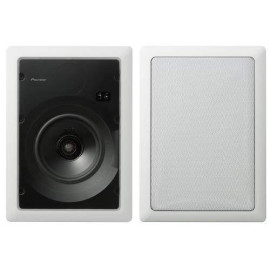 6.5-Inch In-Wall Cst Speaker, White (Pair)