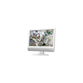 22-Inch Tft Widescreen Lcd Tv With Dvd Player (Atsc/Ntsc) &  Hdmi Input, White