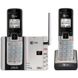 Dect 6.0 2-Handset Connect To Cell With Caller Id And Answering System
