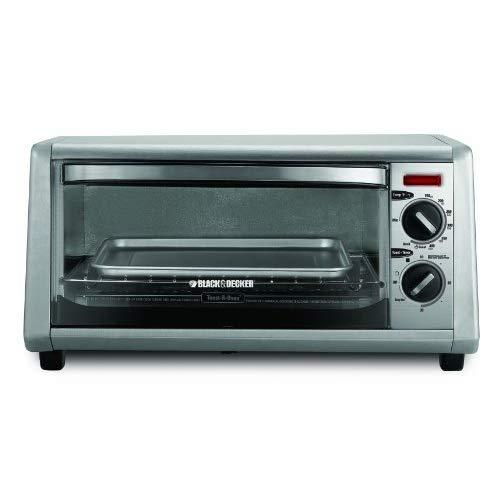 4-Slice Toaster Oven, Stainless
