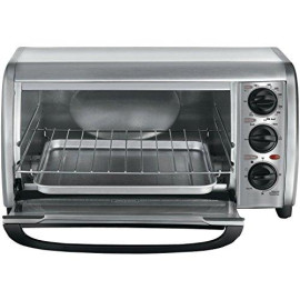 4-Slice Toaster Oven Stainless