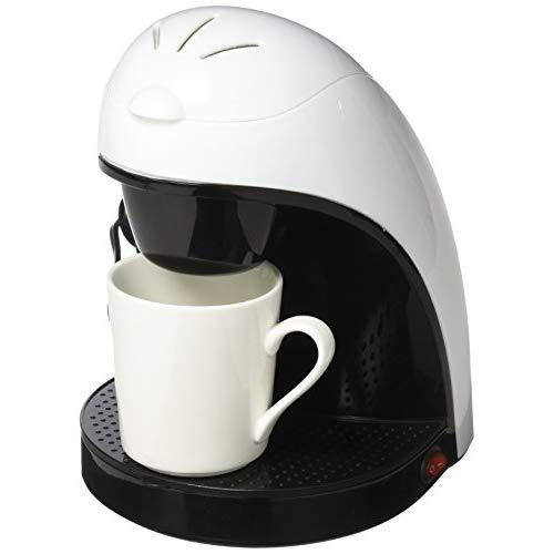 Single Cup Coffee Maker - White