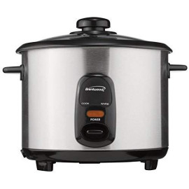 8 Cup Rice Cooker Stainless Steel