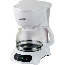 4-Cup Coffeemaker - White