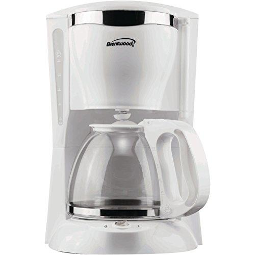 12-Cup Coffeemaker - White