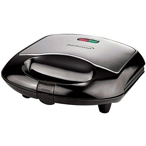 Sandwich Maker Brushed Stainless Steel And Black Finish