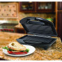 Panini Maker, Black And Stainless Steel
