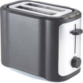 2-Slice Toaster Cool Touch /Wide Slot, Stainless Steel And Black