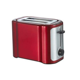 2-Slice Toaster Cool Touch Wide Slot, Stainless Steel/Red