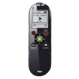 2Gb Digital Voice Recorder - Up To 800-Hour Recording, Black