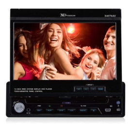 """7"""" Touch Screen Dvd Receiver With Navigation"""