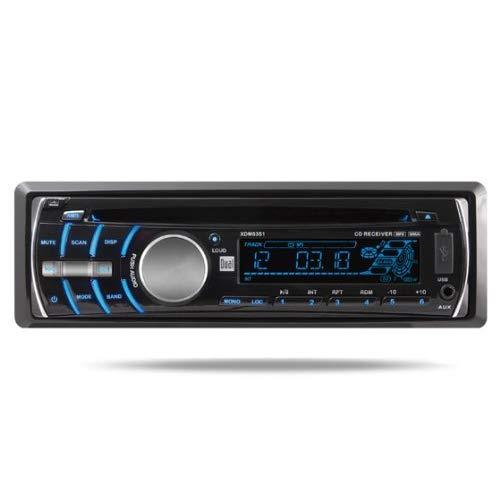 In-Dash Cd Receiver With Usb/Sd/3.5Mm Input