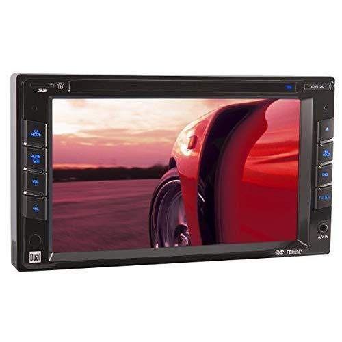 """2-Din Dvd Multimedia Receiver, 6.2"""" Touch Screen, Usb/Sd"""