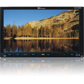 """7"""" Ddin Touch Screen Motorized Receiver With Bluetooth"""