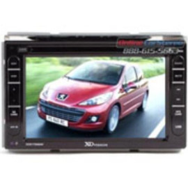 """7"""" Ddin Touch Screen Receiver With Built-In Navigation"""