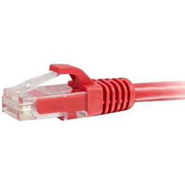 C2G 27184 Cat6 Cable - Snagless Unshielded Ethernet Network Patch Cable, Red (14 Feet, 4.26 Meters)