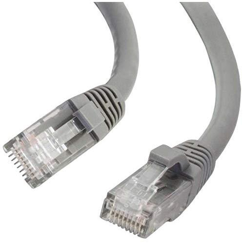 C2G 27135 Cat6 Cable - Snagless Unshielded Ethernet Network Patch Cable, Gray (25 Feet, 7.62 Meters)
