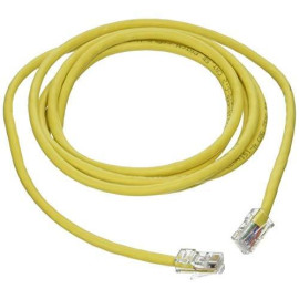 C2G 24511 Cat5E Crossover Cable - Non-Booted Unshielded Network Patch Cable, Yellow (7 Feet, 2.13 Meters)