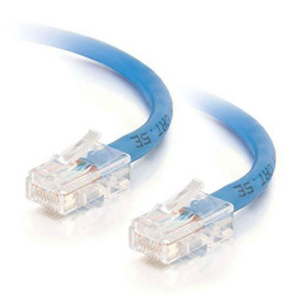 C2G 22673 Cat5E Cable - Non-Booted Unshielded Ethernet Network Patch Cable, Blue (3 Feet, 0.91 Meters)