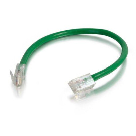 C2G 22686 Cat5E Cable - Non-Booted Unshielded Ethernet Network Patch Cable, Green (7 Feet, 2.13 Meters)