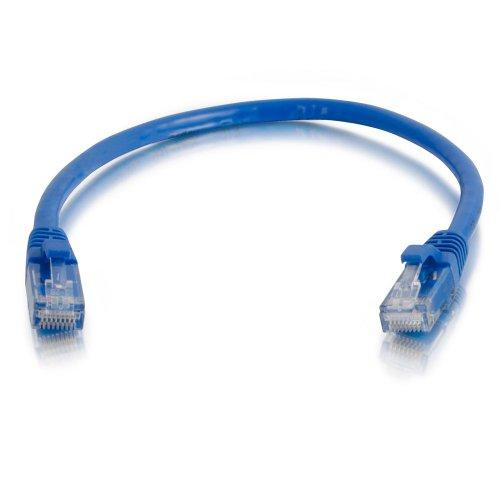C2G 15200 Cat5E Cable - Snagless Unshielded Ethernet Network Patch Cable, Blue (10 Feet, 3.04 Meters)