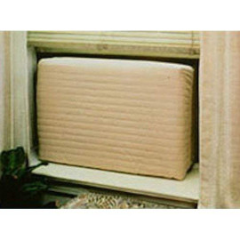 """Indoor Air Conditioner Cover (Beige) (Large - 18 -20""""H X 26 -28""""W X 2""""D)"""