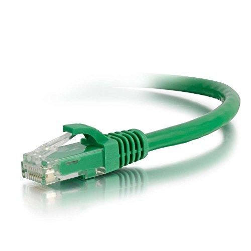 C2G 27175 Cat6 Cable - Snagless Unshielded Ethernet Network Patch Cable, Green (25 Feet, 7.62 Meters)