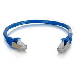 C2G 27241 Cat5E Cable - Snagless Shielded Ethernet Network Patch Cable, Blue (3 Feet, 0.91 Meters)