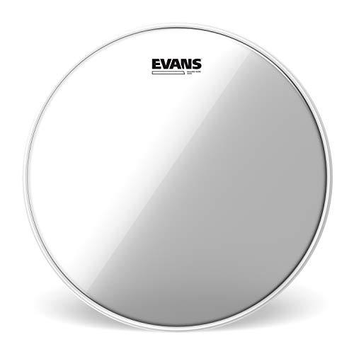 """Evans Clear 300 Snare Side Drumhead, 10"""" - Made Using A Single Ply Of 3Mil Film For Wide Dynamic Range And Controlled Snare Response At All Dynamic Levels - Versatile For Many Playing Styles"""