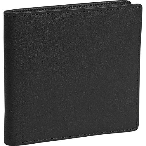 Royce Leather Hipster Wallet - Black