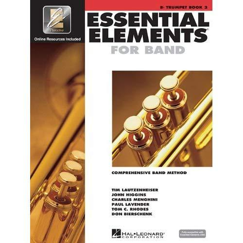 Hal Leonard Essential Elements 2000 For Trumpet (Book 2 And Cd Has To Be Ordered Using Order Card Which Is Inside The Book)